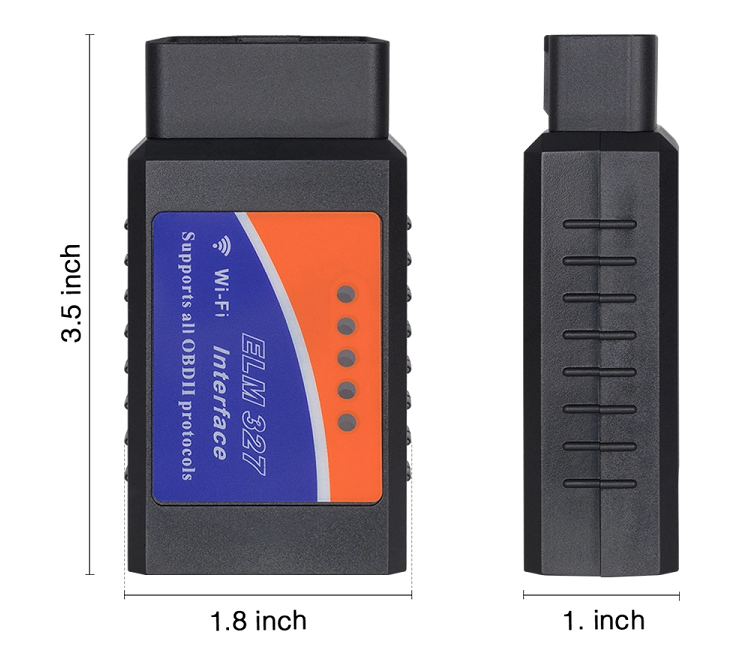 ELM327 WIFI V1.5 Wireless OBD2 tester