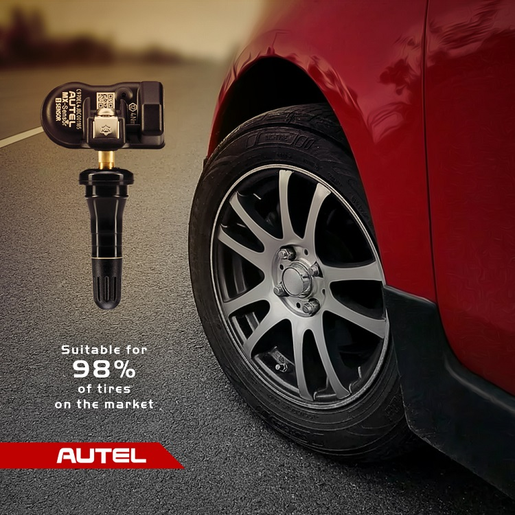 Autel MX tire pressure monitoring for TPMS