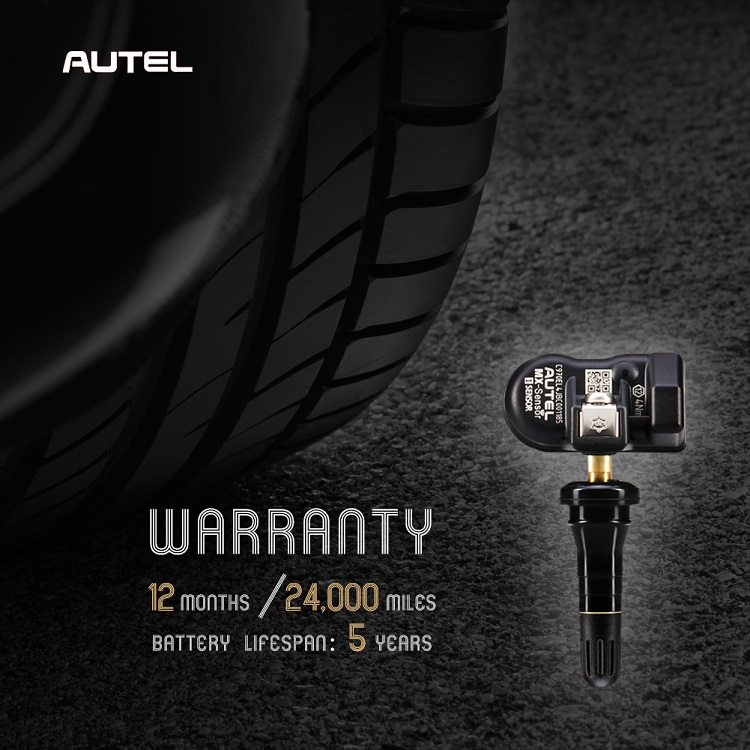 Autel tire pressure monitoring for TPMS