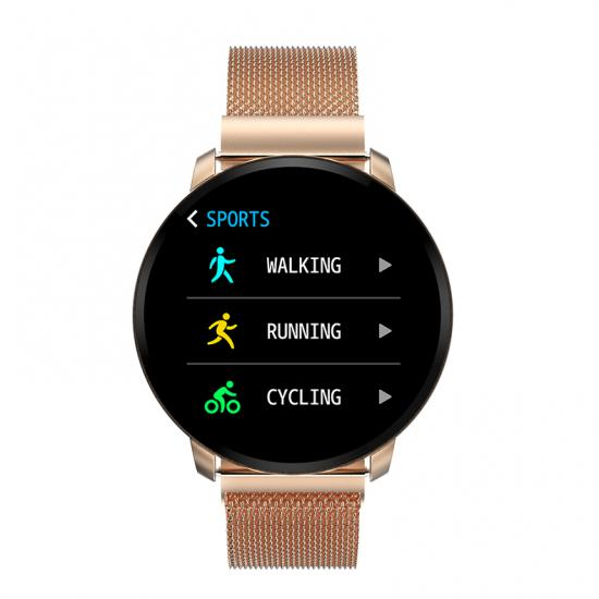 Metal Smart Bracelet for health monitoring
